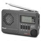 SAYIN SY-1192 FM / MW / SW 14 Band Stereo Radio w/ Speaker / Antenna / TF / USB / MP3 - Deep Grey