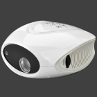 BLC-007B Mini Portable Digital LCD Projector w/ LED / AV / TV - White + Black (EU Plug)