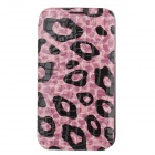NEWTOP Crocodile Texture Protective PU Leather Case for Samsung Galaxy Note 2 N7100 - Purple + Black