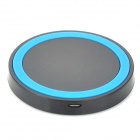 Mikasso T-200 Mini Universal QI Standard Wireless Charger - Black + Blue