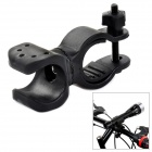 CoolChange Outdoor Cycling Mountain Bike Top Tube Mount Clip - Black