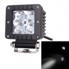 10' Flood Beam 16W 1280lm 6000K 4 x Cree XP-E Work Light / Daytime Running Light / Off-Road Lamp