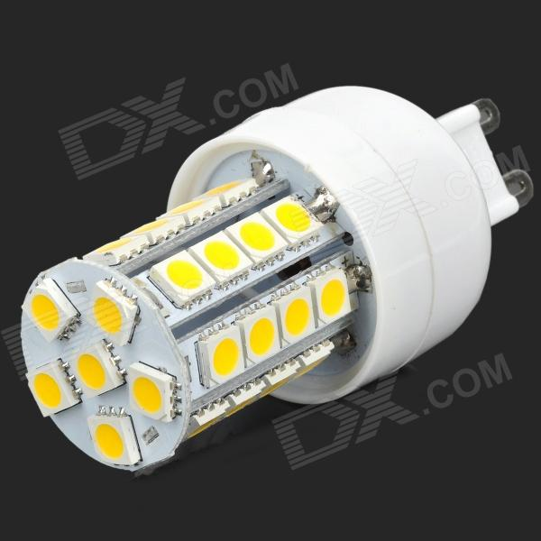 купить Lexing Lighting LX-YMD-015 G9 4W 350lm 3500K 34-5050 SMD Warm White LED Lamp - White + Yellow недорого
