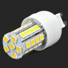 Lexing Beleuchtung LX-YMD-015 G9 4W 350lm 3500K 34-5050 SMD Warm White LED Lampe - Weiß + Gelb