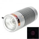 KONG JING LSZ-40A Waterproof 7.2W 2400mW 850nm LED Array IR Light - Silver