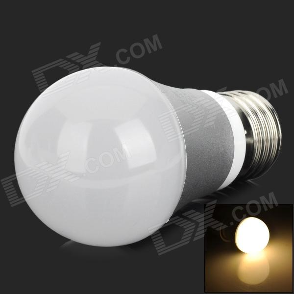HIWIN Ziri E27 3W 300lm 3500K 7-5630 SMD LED Warm Whilte Bulb - Silver (AC 100~240V) 100% genuine hiwin linear guide hgr30 800mm block for taiwan