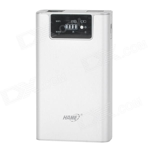 HAME F1 3G Wireless Router + Wireless Storage + 7800mAh Mobile Power
