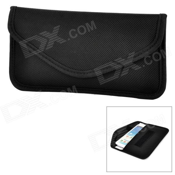 Portable Radiation Protection Nylon Bag Pouch for Cell Phone - BlackBags &amp; Pouches<br>ModelsSamsungMaterialNylonForm  ColorBlackQuantity1Compatible ModelsSamsungOther FeaturesWithPacking List1 x Radiation protection pouch<br>