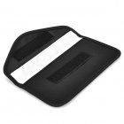 Portable Radiation Protection Nylon Bag Pouch for Cell Phone - Black