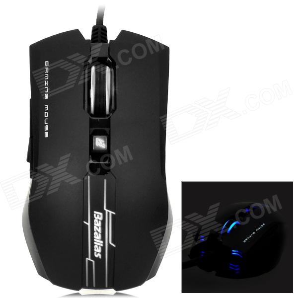 Bazalias X9 Wired USB 2.0 800 / 1200 / 2000dpi Optical Mouse