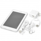 "Ampe A79 7"" IPS Quad Core Android 4.1.2 Tablet PC w/ 1GB RAM / 4GB ROM / 1 x SIM / Bluetooth - White"