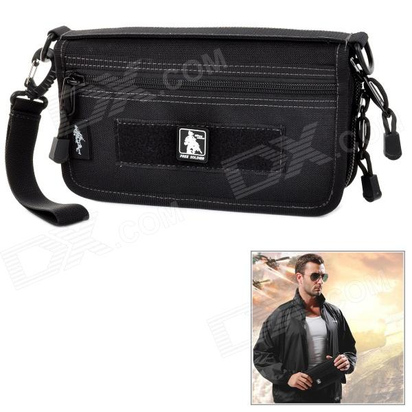 Free Soldier SJB76 Outdoor Tactical Handheld Bag - BlackModelSJB76Quantity1MaterialCORDURAForm  ColorBlackGear CapacityNoFrame TypeFramelessRaincover includedNoOther FeaturesWithPacking List1 x Bag<br>