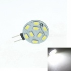 Sencart G4 2.2W 180lm 7500K 9-5730 SMD LED White Light-Lampe (12 ~ 24V)