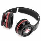 Syllable G08S-002 Folding Design Wireless Bluetooth V4.0 + EDR Stereo Headphone w/ Mic - Black