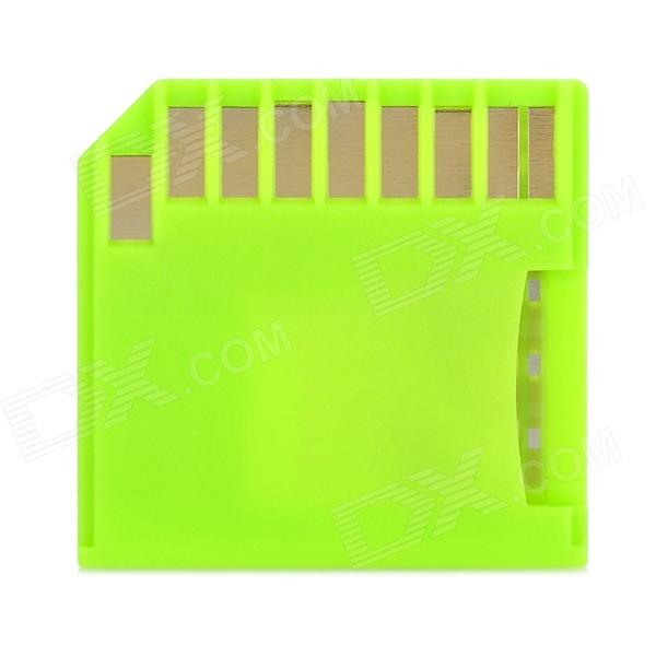 DoSeen Disk SD Card Adapter - Fluorescent Green азбука лолита