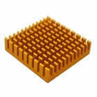 High Performance Aluminum Heatsink Radiator - Golden (45 x 45 x 10mm)