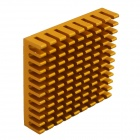 HighPerformanceAluminumHeatsinkRadiator-Золотой(45x45x10mm)
