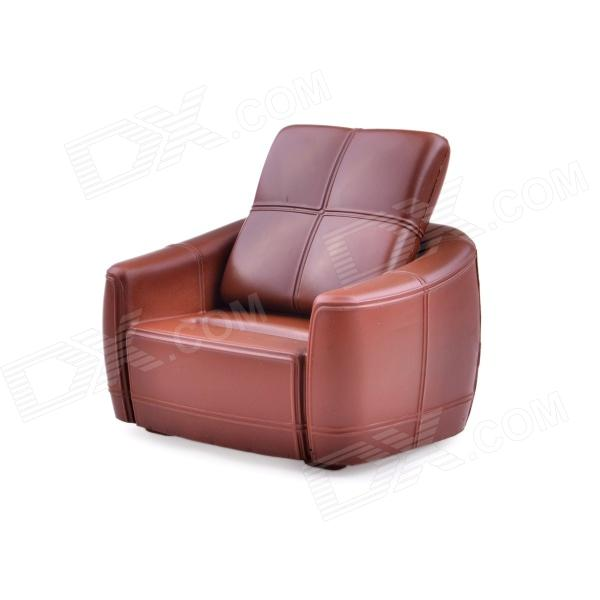 Siri's Couch SC-03-DB PU Cell Phone Holder for Iphone 4 / 4S / 5 - Brown
