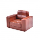 Siri's Couch SC-05-DB PU Cell Phone Holder for Iphone 4 / 4S / 5 - Brown