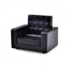 Siri's Couch SC-01-SB PU Cell Phone Holder for Iphone 4 / 4S / 5 - Black