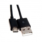 Micro USB Male to USB 2.0 Male Data Sync / Charging Cable for Cellphone - Black (200cm)