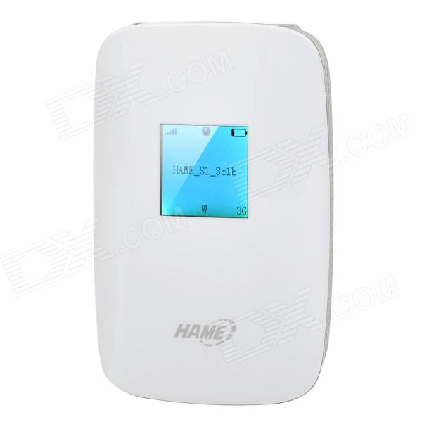 HAME S1 5150Mbps 3G Wireless Router + 5200mAh Mobile Power + Wireless Storage hame a5 3g wi fi ieee802 11b g n 150mbps router hotspot black