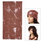 Ryder Multifunction Outdoor Travel Quick Drying Polyester Head Scarf - Coffee