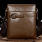 TT5542 Fashionable Men's PU Leather Business Bag - Coffee