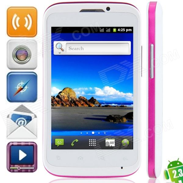 MP991(sphs on hsdroid) Android 2.3.6 GSM Bar Phone w/ 4.0