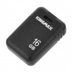 KINGMAX PI-03 Portable USB 2.0 Flash Drive w/ Strap - Black (16GB)