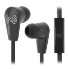 KEEKA MIC-102 Stylish Universal 3.5mm Jack Wired In-ear Headset for Cellphone - Black + White