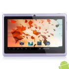 "SoftwinerEvb 7 ""Android 4.0 Tablet PC w / 512MB RAM / ROM 4GB / G-Sensor - Lila"