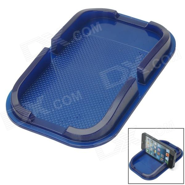 Silicone Non-Slip Mat Pad for Cellphone - Blue silicone non slip mat pad for cellphone blue