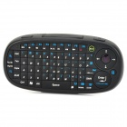 Jiayibing Eboard 02 Bluetooth Thumb Cursor Induction 72-Key Keyboard Air Mouse - Black