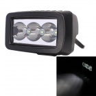 10' Spot Beam 12W 960lm 6000K 3 x Cree XP-E White Work Light / Daytime Running Light / Off-Road Lamp