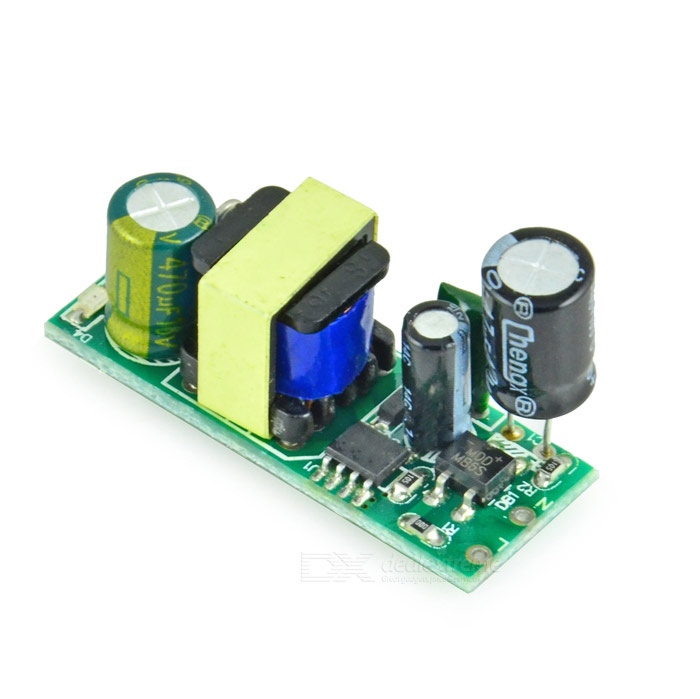 Isolated Switching Power Supply Module - Green (12V / 400mA) 1pcs current detection sensor module 50a ac short circuit protection dc5v relay