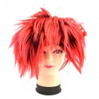 Creative Hedgehog Rayon Hair Wig - Red + Black