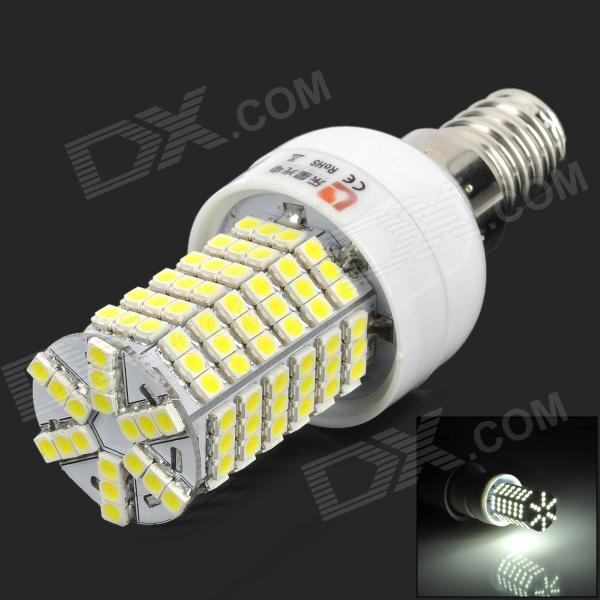 купить Lexing Lighting LX-YMD-011 E14 4W 450lm 7500K White 144-SMD 3528 LED Light Bulb - White + Yellow недорого