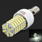 Lexing Lighting LX-YMD-011 E14 4W 450lm 7500K White 144-SMD 3528 LED Light Bulb - White + Yellow