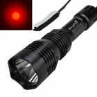 SingFire SF-76B 180lm 1-Mode Red Hunting Weapon Flashlight w/ Cree XP-E R2-N4 - Black (1 x 18650)
