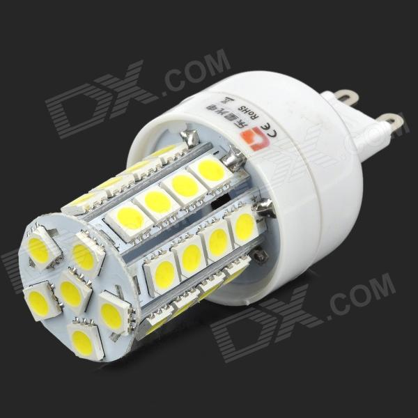 купить Lexing Lighting LX-YMD-018 G9 4W 350lm 7500K White 34-SMD 5050 LED Light Bulb - White + Yellow недорого