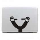 "PAG Slingshot Style Decoration Sticker for Macbook 11"" / 13"" / 15"" - Black"