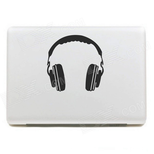 PAG Headphone Style DIY Decoration Sticker for Macbook 11