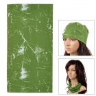 Ryder Multi-Functional Outdoor Cycling Polyester Head Scarf - Green
