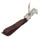 Professional Stainless Steel Release Aid for Slingshot - Silver + Brown