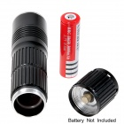 KX-M3 800lm 5-Mode White Light Flashlight w/ Cree XM-L U2 - Black (1 x 18650 / 26650)