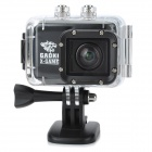 GAOKI-X-GAME 1080p 12MP Wide Angle 60m Waterproof Sports Camera w/ DV / HDMI / AV output / 1.5 LCD