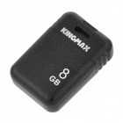 KINGMAX PI-03 Tragbare Mini-USB-Flash-Laufwerk für Laptop / Tablet / Car Stereo - Schwarz (8GB)