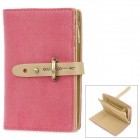 Multi-Compartments PU Leather Wallet for Women - Pink