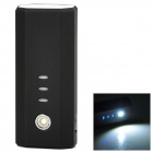IWALK UBE5200D MFI Universal Portable 5200mAh Power Bank w/ LED Flashlight - Black